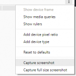 Screenshot in Chrome anfertigen
